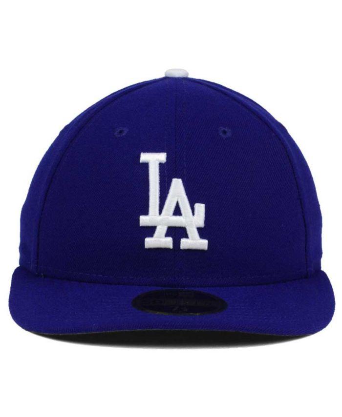 New Era Los Angeles Dodgers Low Profile AC Performance 59FIFTY Cap & Reviews - Sports Fan Shop By Lids - Men - Macy's