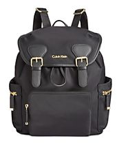 Calvin Klein Small Double Buckle Backpack