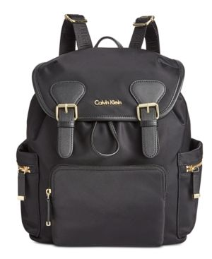 DOUBLE BUCKLE BACKPACK