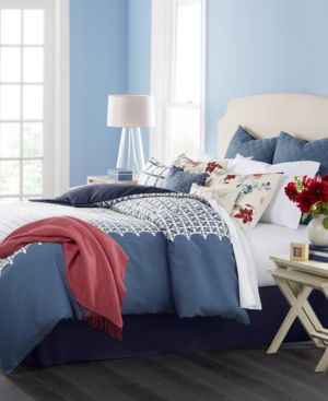 Closeout! Martha Stewart Collection Madeline 10-Pc. California King Comforter Set, Created for Macy's Bedding 4396284