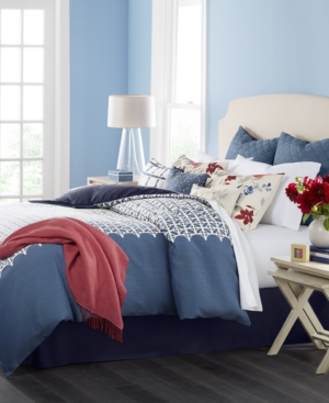 Martha Stewart Collection Madeline 10Pc California King Comforter Set Created for Macys Bedding
