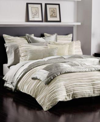 donna karan tidal bedding collection