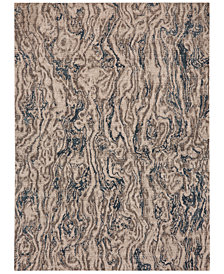 Karastan Enigma Alluvium Robin's Egg Area Rug Collection