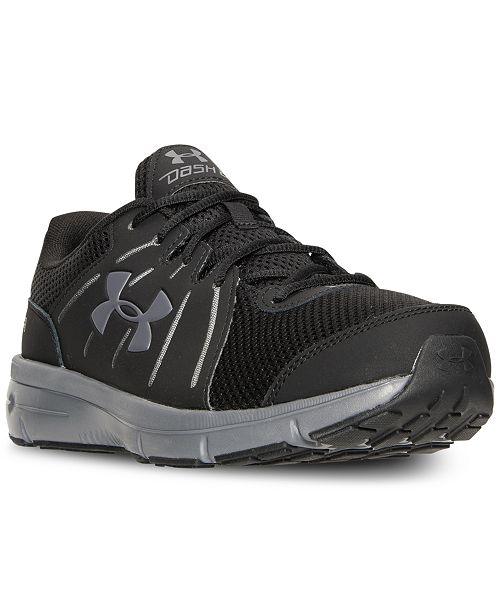 reputable site 46825 cdacc Under Armour Men's Dash RN 2 4E Wide Running Sneakers from ...