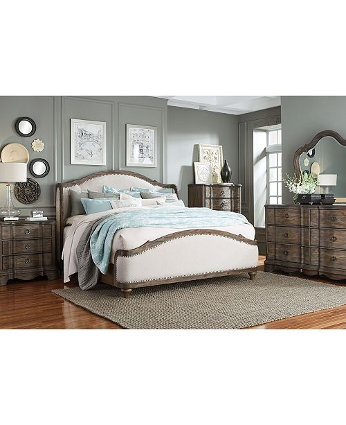 Closeout! Madden Bedroom Furniture, 3-Pc. Set (Queen Bed, Chest &  Nightstand), Created for Macy\'s
