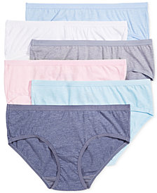 Fruit of the Loom Premium 6-Pk. Ultra-Soft Hipster 6DPUSP1