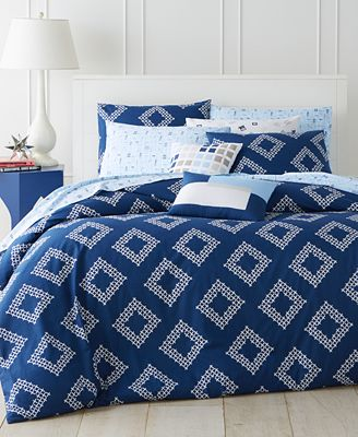 Whim by Martha Stewart Collection Diamond Coast Comforter Sets, Only at Macy's
