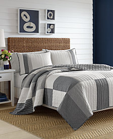Nautica Calvert Cotton Reversible King Quilt
