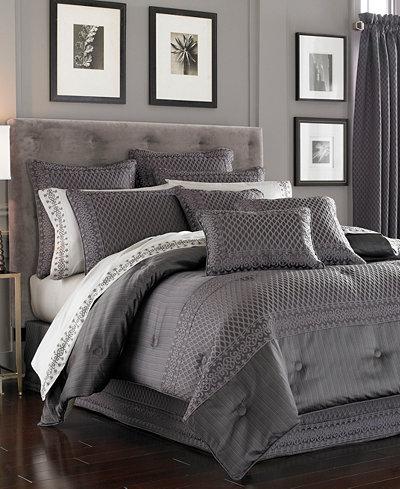 J Queen New York Bohemia Graphite Bedding Collection