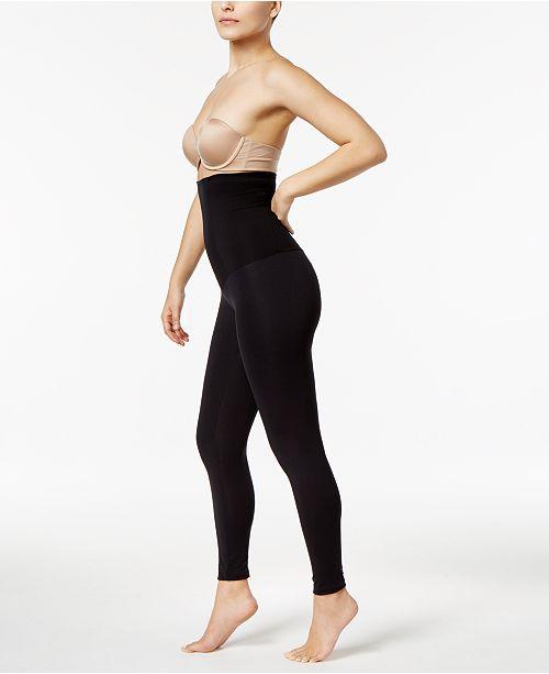 24a3e882e80 Leonisa Women s High-Waist Firm Tummy-Control Leggings 012901 ...
