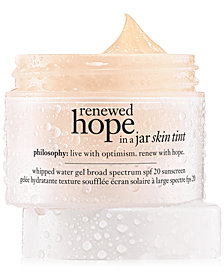 philosophy Renewed Hope In A Jar Skin Tinted Moisturizer