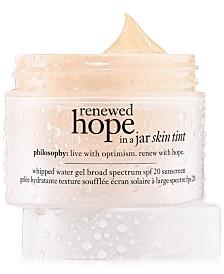 philosophy Renewed Hope in a Jar Skin Tinted Moisturizer