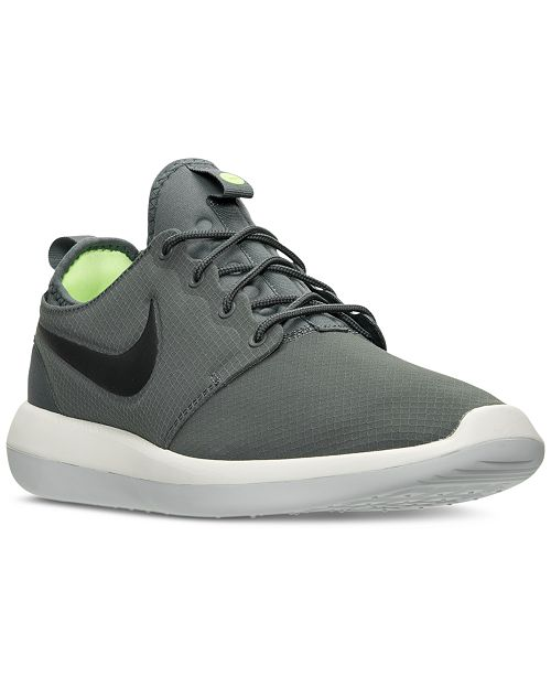 211c3f87f281 Nike Men s Roshe Two SE Casual Sneakers from Finish Line   Reviews ...