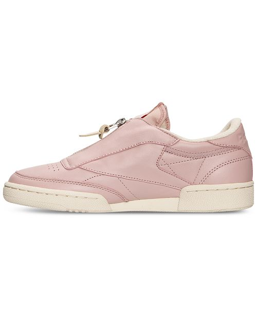 199eaa919a5 Reebok Women s Club C Zip Casual Sneakers from Finish Line   Reviews ...