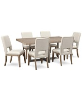 Altair Dining Furniture Set 7 Pc Table 6
