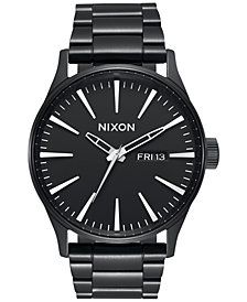 Nixon Men's Sentry Stainless Steel Bracelet Watch 42mm A356