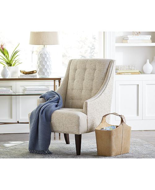 Jla Home Easton Accent Chair Quick Ship Furniture Macy S