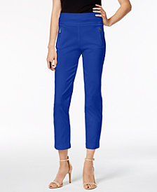 I.N.C. Petite Cropped Skinny Pants, Created for Macy's