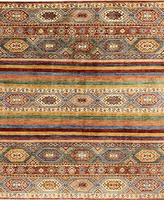 Fine Rug Gallery B610838 Mansehra Multi 6'6\\\
