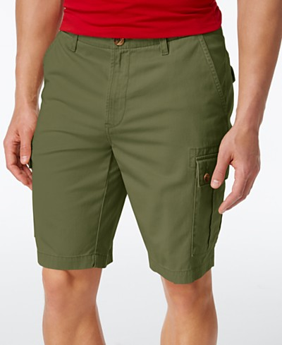 Club Room Men's Casual Cargo 10.5 Shorts, Created for Macy's