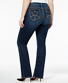 Kut from the Kloth Plus Size Natalie Bootcut Jeans