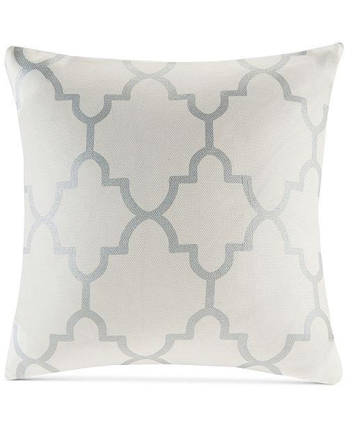 Madison Park Saratoga FretworkPrint 40 Square Decorative Pillow Impressive Madison Square Decorative Pillow