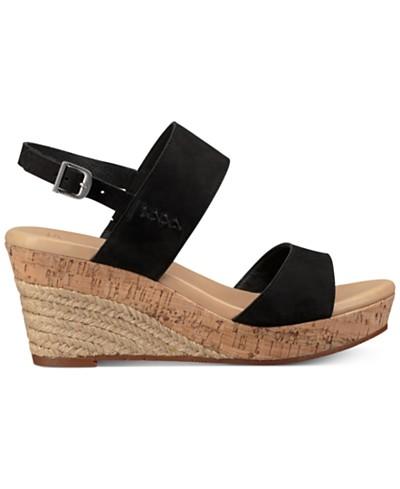 UGG® Elena Wedge Sandals