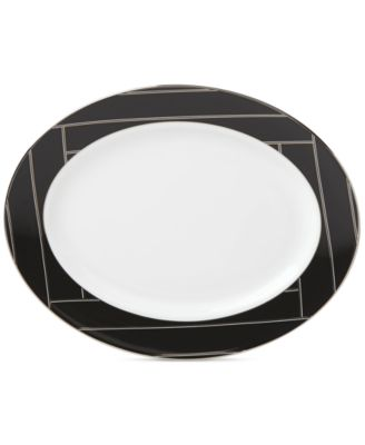 "Brian Gluckstein by Winston Collection 13"" Oval Platter"