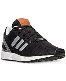 adidas Big Boys' ZX Flux Lentic Casual Sneakers from Finish Line