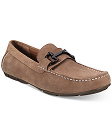 Alfani Men's James Suede Driver with Bit, Created for Macy's