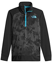The North Face Kickin It Quarter-Zip Pullover, Big Boys (8-20)
