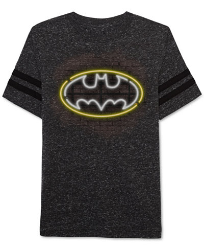 DC Comics® Batman Glow-In-The-Dark Graphic-Print T-Shirt, Toddler Boys