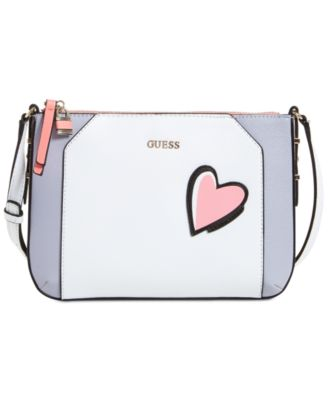 Image of GUESS Devyn Top Zip Crossbody