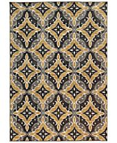 CLOSEOUT! JHB Design Brookside Nav Gold Area Rug