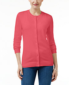 Karen Scott Petite Cardigan, Created for Macy's
