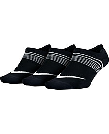 Nike 3-Pk. Performance Low-Profile Training Socks
