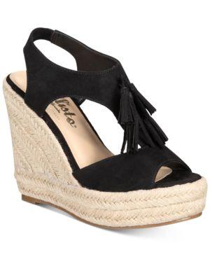 Callisto Edith Espadrille Platform Wedge Sandals Women