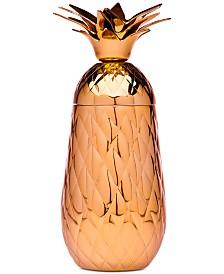 Godinger Copper Pineapple Cocktail Shaker