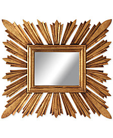 Rectangular Sunburst Mirror