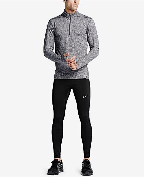 e69eb31e8749b Nike Men's Element Dri-FIT Half-Zip Running Shirt & Reviews - T ...