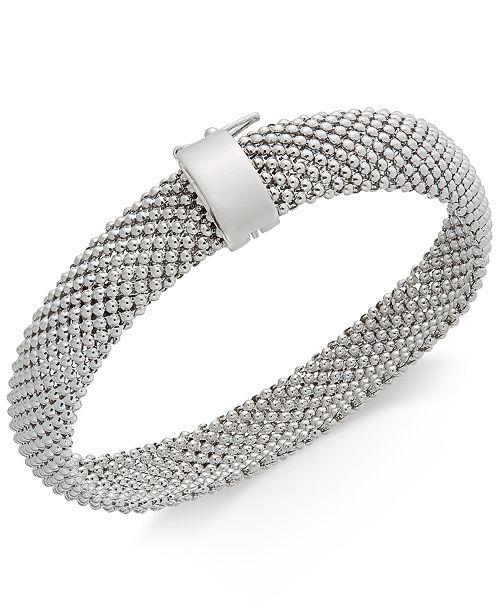 26e19d6847e Italian Gold Sterling Silver Bracelet