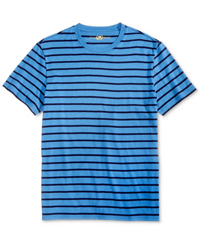 Club Room Men's Goldman Striped T-Shirt, Created for Macy's - T ...