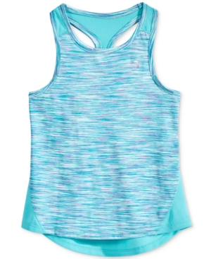 Champion SpaceDye Swing Tank Little Girls (46X)