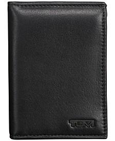 Men's Nappa Leather L-Fold ID Passcase