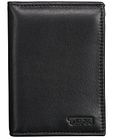 Tumi Men's Nappa Leather L-Fold ID Passcase