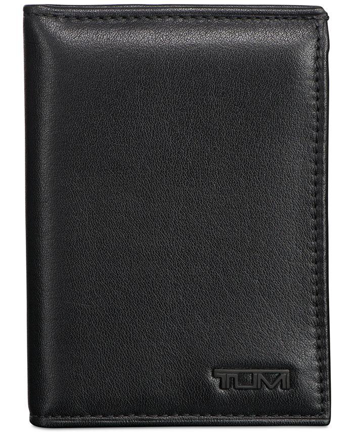 TUMI - Men's Nappa Leather L-Fold ID Passcase