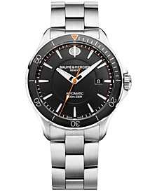 Men's Swiss Automatic Clifton Club Stainless Steel Bracelet Watch 42mm M0A10340