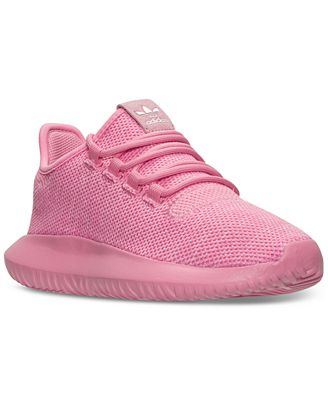 adidas Big Girls' ' Tubular Shadow Knit Casual Sneakers from Finish Line