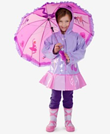 Kidorable Ballerina Rain Gear, Toddler Girls & Little Girls