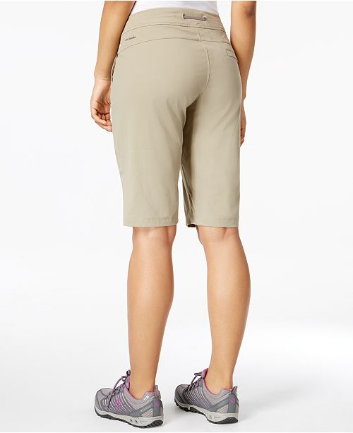 Columbia Anytime Outdoor™ Long Shorts - Shorts - Women - Macy s 21e0b2f78